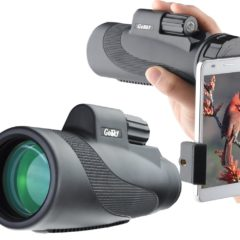 iPhone 7/8/X and Samsung Galaxy Binocular Adapter Case for Digiscoping