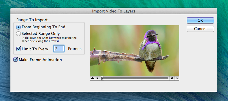 how to make gif tumblr import video to layers