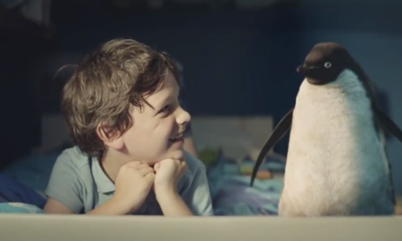 Cute Penguin Commercial for The Holidays