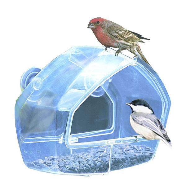 bird lover gift ideas bird window feeder