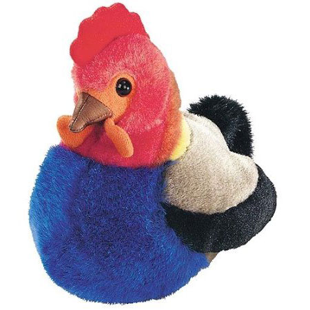 blue hen chicken plush