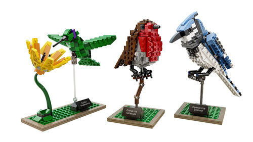 LEGO bird set