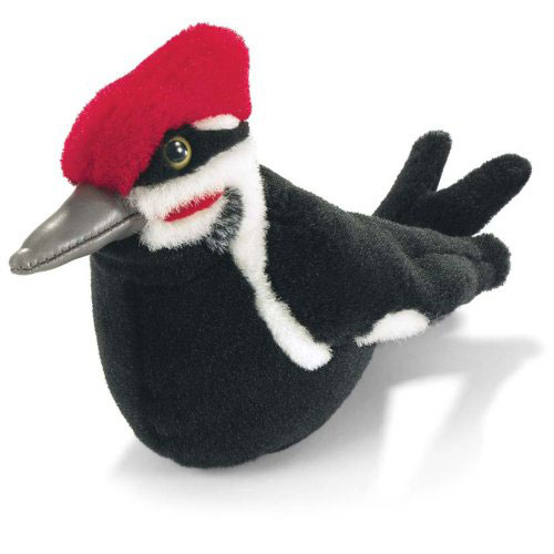 pileated woodpecker plush