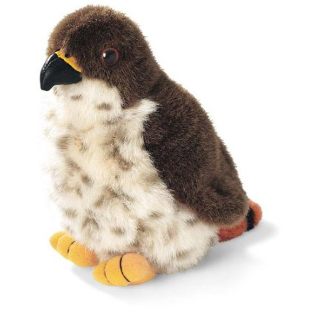 red-tailed hawk plush