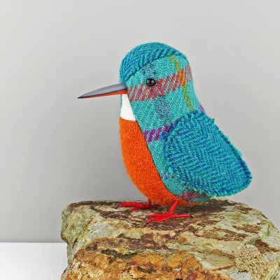 bird sculpture kingfisher