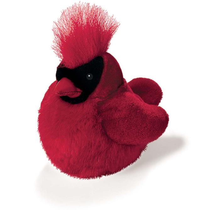 cardinal plush