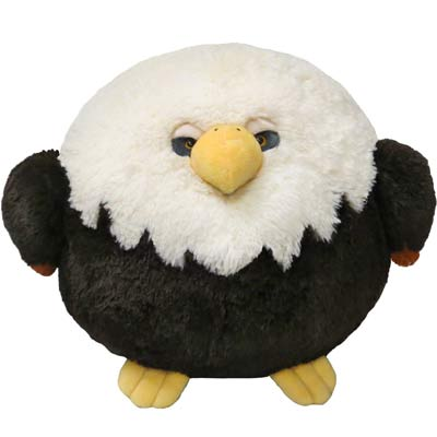 squishable bald eagle