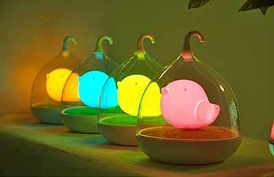usb birdcage lamp