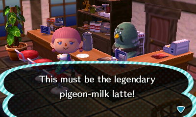 pigeon milk animal crossing
