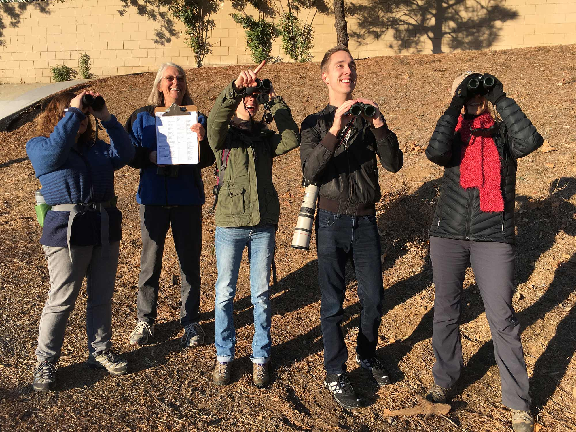 limekiln canyon christmas bird count group