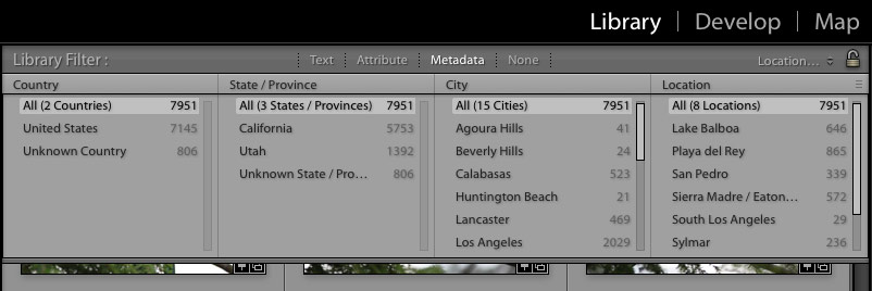 lightroom-organization-filtering-metadata-location