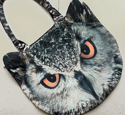 owl purse bag