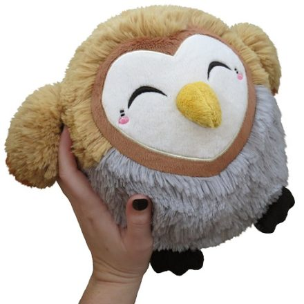 squishable mini barn owl plush